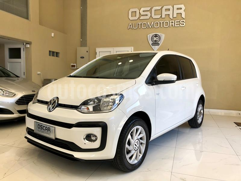 Volkswagen up! 5P 1.0 high up! I-Motion usado (2018) color Blanco Cristal precio $1.095.000