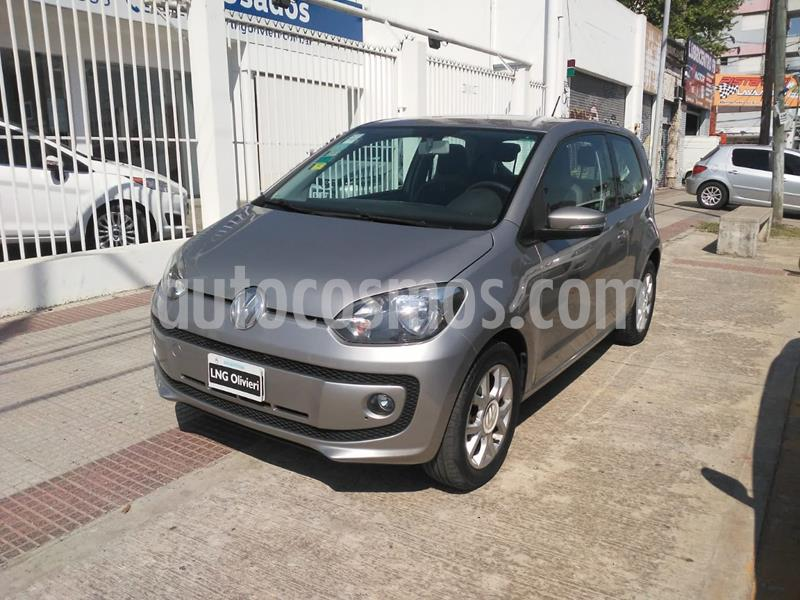 Volkswagen up! 3P 1.0 high up! usado (2014) color Plata Egipto precio $798.000