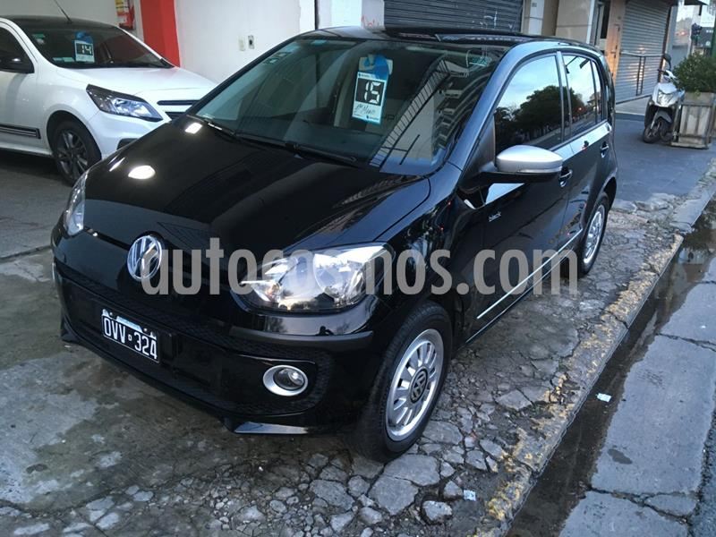 Volkswagen up! 5P 1.0 black up! MT5 (75cv) usado (2015) color Negro precio $628.000