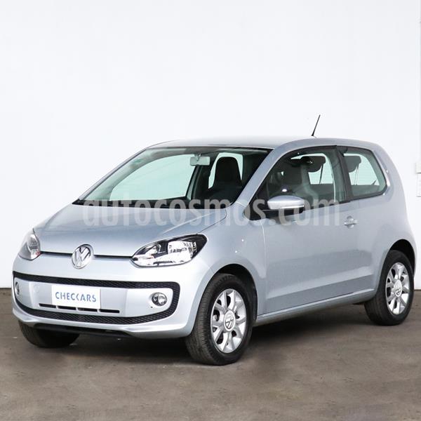 Volkswagen up! 3P 1.0 high up! usado (2016) color Plata precio $939.000