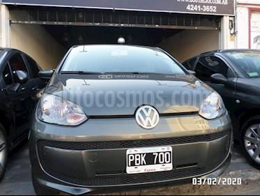 Volkswagen up! 5P take up! usado (2015) color Gris Oscuro precio $510.000