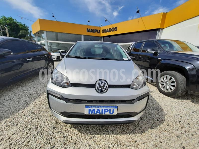 Volkswagen up! 5P 1.0 take up! usado (2020) color Gris Platina precio $1.200.000