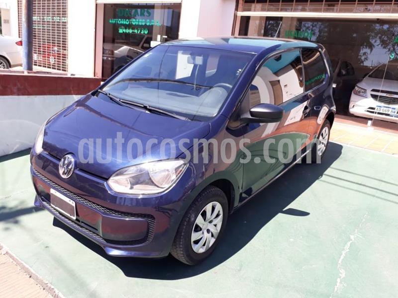 Volkswagen up! 3P take up! usado (2015) color Azul precio $590.000
