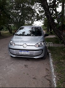 Volkswagen up! 3P 1.0 take up! usado (2016) color Gris precio $560.000