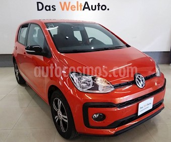 Foto venta Auto usado Volkswagen up! Connect (2018) color Naranja Metalico precio $180,000