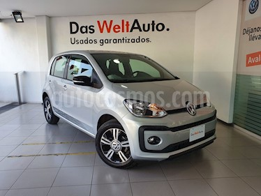 Volkswagen up! Connect usado (2018) color Plata precio $219,000