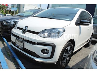 Volkswagen up! high up! usado (2018) color Blanco precio $195,000