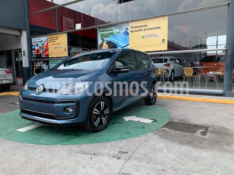 Volkswagen up! Connect usado (2018) color Azul precio $165,990