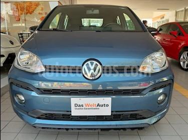 Volkswagen up! Connect usado (2018) color Azul Laguna precio $165,000