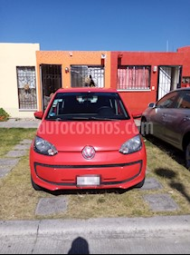 Volkswagen up! move up! usado (2017) color Rojo Flash precio $120,000