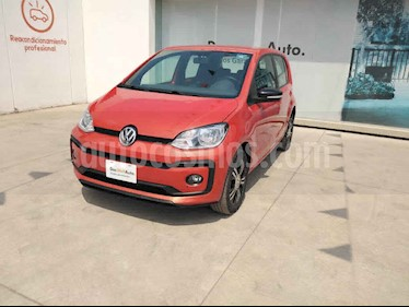 Volkswagen up! 5p Connect Up L3/1.0 Man usado (2018) color Naranja precio $195,000