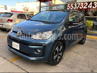 Volkswagen up! 5p Connect Up L3/1.0 Man usado (2018) color Azul precio $165,345