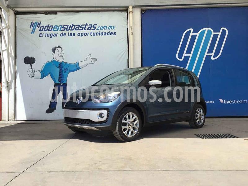 Volkswagen up! cross up! usado (2017) color Azul precio $52,000