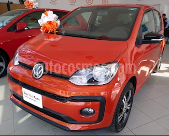 Volkswagen up! Connect usado (2018) color Naranja precio $179,990