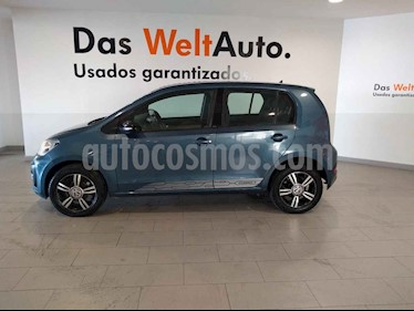 Volkswagen up! 5p Connect Up L3/1.0 Man usado (2018) color Azul precio $185,900