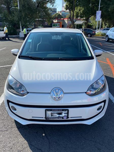 Volkswagen up! high up! usado (2016) color Blanco precio $129,000