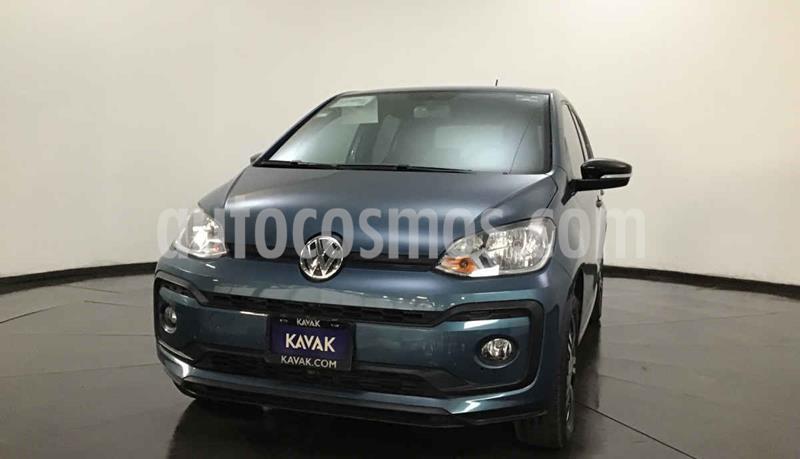 Volkswagen up! Connect usado (2018) color Azul precio $182,999