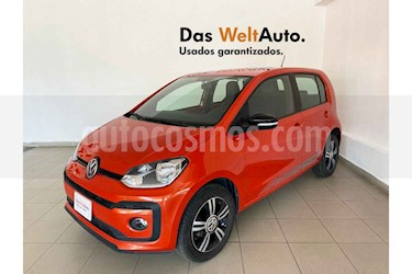 Volkswagen up! 5p Connect Up L3/1.0 Man usado (2018) color Naranja precio $164,600