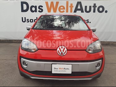 Volkswagen up! cross up! usado (2017) color Rojo precio $155,000