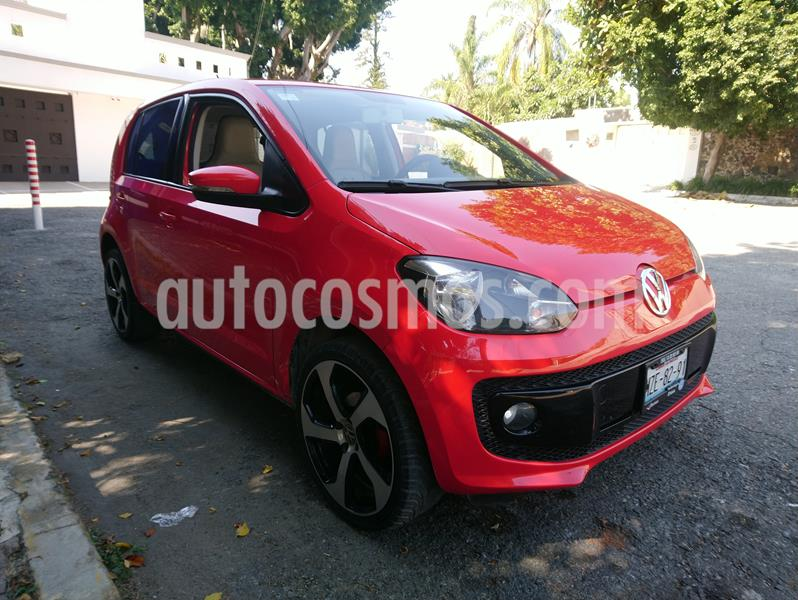 Volkswagen up! high up! usado (2016) color Rojo Flash precio $116,000
