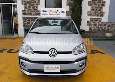 Volkswagen up! Connect usado (2018) color Plata precio $180,000