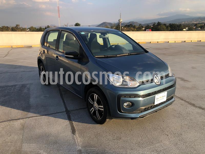 Volkswagen up! Connect usado (2018) color Azul Laguna precio $155,000