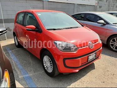 Volkswagen up! move up! usado (2017) color Rojo precio $140,000