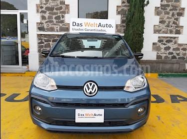Volkswagen up! Connect usado (2019) color Azul Laguna precio $165,000