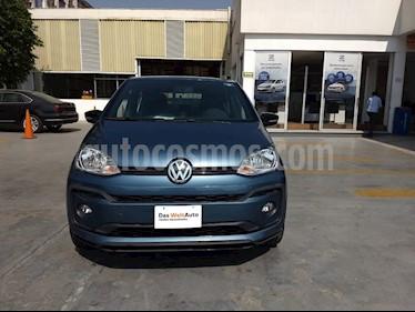 Volkswagen up! Connect usado (2019) color Azul Laguna precio $180,000