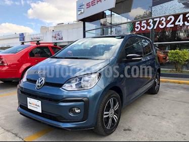 Volkswagen up! Connect usado (2018) color Azul precio $180,000