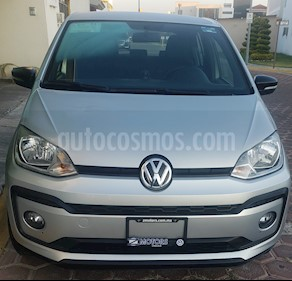 Volkswagen up! Connect usado (2018) color Plata precio $165,000