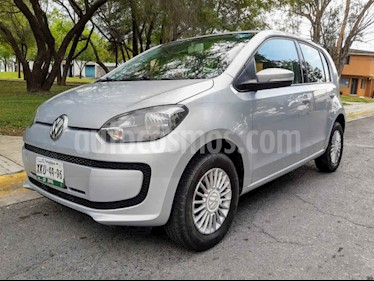 Volkswagen up! move up! usado (2016) color Plata precio $125,000