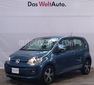 foto Volkswagen up! Connect usado (2018) color Azul Laguna precio $180,000