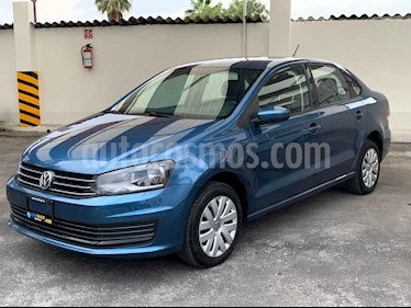 Foto Volkswagen Vento 1.6L usado (2019) color Azul precio $189,800