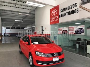Foto venta Auto usado Volkswagen Vento 4p Confortline TDI L4/1.5/T Man (2018) color Rojo precio $195,000