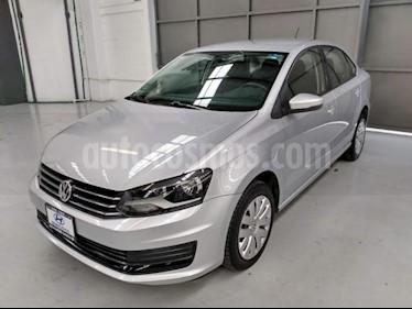 Foto Volkswagen Vento 4p Starline L4/1.6 Aut usado (2016) color Plata precio $165,000