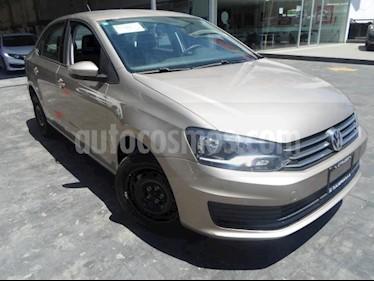 Volkswagen Vento 4p Starline L4/1.6 Aut usado (2018) color Beige precio $175,000