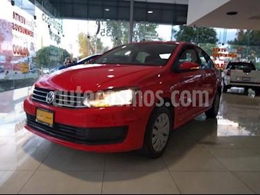 Foto Volkswagen Vento 4p Starline L4/1.6 Aut usado (2018) color Rojo precio $169,500