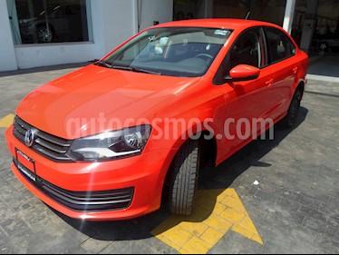 Foto venta Auto usado Volkswagen Vento 4p Starline L4/1.6 Aut (2018) color Rojo precio $185,000