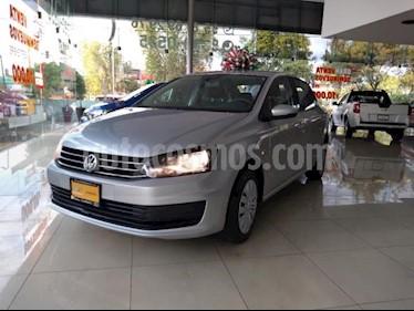 Foto Volkswagen Vento 4p Starline L4/1.6 Aut usado (2018) color Plata precio $169,000