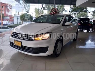 Foto Volkswagen Vento 4p Starline L4/1.6 Aut usado (2018) color Blanco precio $169,700