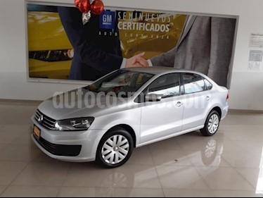Volkswagen Vento 4p Starline L4/1.6 Aut usado (2017) color Plata precio $173,900