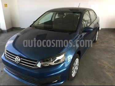 Foto Volkswagen Vento 4p Starline L4/1.6 Aut usado (2018) color Azul precio $180,000