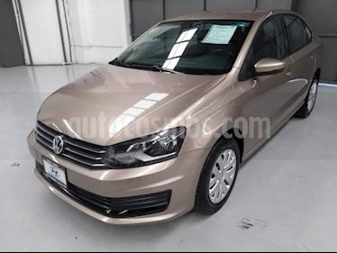 Foto Volkswagen Vento 4p Starline L4/1.6 Man usado (2017) color Beige precio $170,000