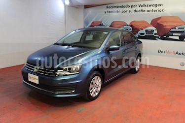 Volkswagen Vento Comfortline Aut usado (2019) color Azul Noche precio $219,000