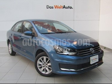 Foto venta Auto usado Volkswagen Vento Comfortline Aut (2018) color Azul precio $195,000