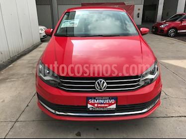 foto Volkswagen Vento Comfortline Aut usado (2018) color Rojo Flash precio $199,000