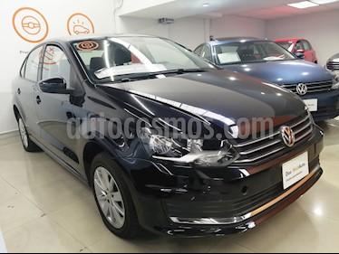 Foto venta Auto usado Volkswagen Vento Comfortline Aut (2018) color Negro Profundo precio $215,000