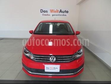 Foto venta Auto usado Volkswagen Vento Comfortline Aut (2018) color Rojo Flash precio $222,980