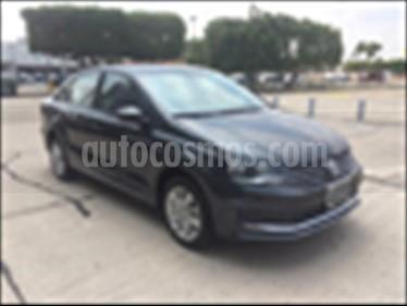 Foto venta Auto Seminuevo Volkswagen Vento Comfortline Std. (2018) color Gris Oscuro precio $189,000